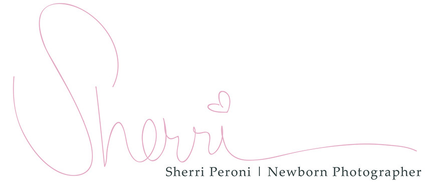 Newborn Baby Photographer Windsor ON  | Sherri Peroni Photography logo
